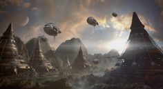 Terra-Forming And Colonization by Michael Daglas, via Behance