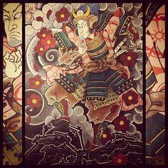 Japanese Tattoo Art, Japanese Art, Back Piece Tattoo, Have A Great Sunday, Asian Tattoos, Samurai Tattoo, Back Pieces, Color Studies, Japan Fashion