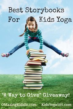 """OMazing Kids & Imaginations: Fun Relaxation Stories and Meditations for Kids / Bambino Yoga are co-hosting a poll and """"A Way to Give"""" giveaway to find out the Top 10 Favorite Storybooks for Yoga of the kids yoga community! Enter by 11:59pm PST June 30, 2013. See details at omazingkidsllc.co..."""