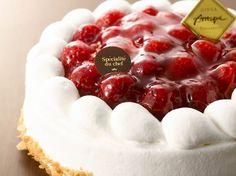cake 木苺レアチーズケーキ
