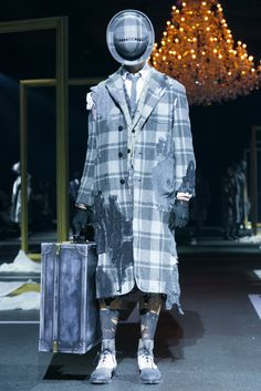 See what Thom Browne dreamt up for fall 2016 men's.