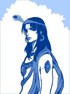 Tegaki Krishna by mmmmmr