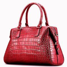 58c1163e77fe táska · Alligator Handbag, Fashion Top Handle Bag Cross body Shoulder Bag  Divat Kézitáskák, Tervezői Táskák