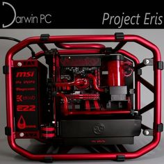 Project Eris - filling the watercooling loop. MSI Z170 & GTX 980Ti, In Win D-Frame Mini, Intel i5-6600K  Custom gaming computers and mods by Darwin PC.  #gaming #games #gamer #pc #pcgaming #gamingpc #gamingsetup #custompc #watercooling #watercooled #intel #msi #ekwb #inwin #e22 #corsair #nvidia #ebuyer #awesome_pcs #nxtgenpc #pcmasterrace #tech #technology #design #darwinpc #gif #loop #video