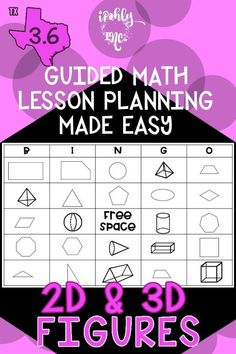 Spend less time prepping for your 3rd grade #math #lessonplans and more time teaching! Here is a priceless bundle that includes stations, games, activities, teacher tools and everything you need for 10 days of math lessons! #3rdgrade #classroom #school #3D #2D #mathgames #mathworksheets For more resources to simplify your teacher life, visit ipohlyinc.com! Math Lesson Plans, Math Lessons, Teacher Tools, Your Teacher, 3rd Grade Math Worksheets, Learning Targets, 3d Figures, Student Data, Guided Math