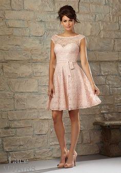 725 Bridesmaids Dresses Lace www.BridesofAmerica.com