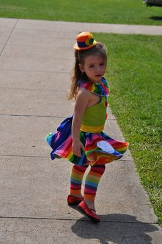 kids clown costume idea