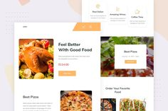 Online Food Ordering - Email Newsletter by Ra-Themes on Envato Elements Email Templates, Newsletter Templates, Email Newsletters, Order Food, Feel Better, Wines, Good Food, Healthy Food, Yummy Food