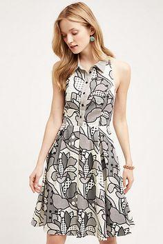 Florie Halter Dress #anthropologie