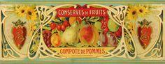 Compote De Pommes Tin Sign at AllPosters.com