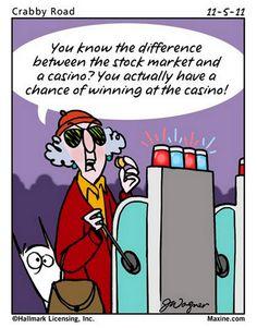 Chuck's Fun Page 2: Maxine cartoons