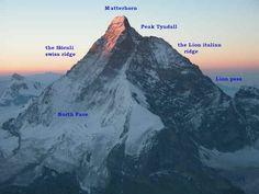 Mt Matterhorn climbing routes