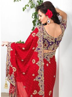 9b8ffacf43 Rich Look Attire To Give Your A Right Choice For Any Party Or Function.  Women · Bridal Sarees OnlineBuy ...