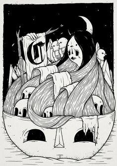 Nightfall. by Christi du Toit