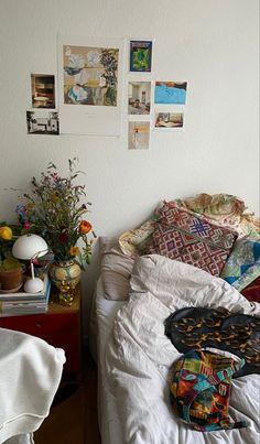 Room Ideas Bedroom, Bedroom Inspo, Bedroom Decor, Uni Room, Dorm Room, Pretty Room, Aesthetic Room Decor, Dream Rooms, New Wall