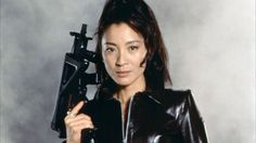 Michelle Yeoh    Action Credentials: Tomorrow Never Dies, Crouching Tiger, Hidden Dragon, the whole Hong Kong chopsocky genre  Weapon of Choice: Martial Arts