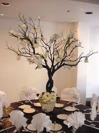 Pretty branch centerpiece