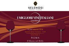 """Velenosi Vini torna a """"I migliori vini italiani"""" con Luca Maroni.   Dall'11 al 14 Febbraio Roma celebra l'eccellenza con l'evento """"I migliori vini italiani""""! Noi ci saremo per farvi scoprire i sapori e profumi dei nostri migliori vini, selezionati da Luca Maroni.  Venite a trovarci al Salone delle Fontane - EUR.    #WorldWine #vinipiceni #winelovers #wine #vino"""