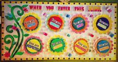 You r special Soft Board Decoration, School Board Decoration, Class Decoration, School Decorations, Bulletin Board Paper, Teacher Bulletin Boards, Classroom Bulletin Boards, Clay Pot Crafts, Easy Crafts