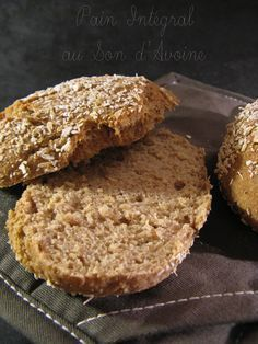 Integral Bread with Oat Bran Vegan Thermomix, Back Pain Remedies, Bread Cake, Bread Pizza, Rye Bread, Diabetic Recipes, Cooking Time, Tapas, Food Porn