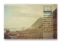 """Christian Wall & Desk Art - Vintage Photography Beach """"Family"""" with Bible Scripture by anytimeart, Sand, Blue Photography Gifts, Vintage Photography, Christian Art Gifts, Wall Desk, Bible Scriptures, Beach, Blue, Painting, Etsy"""