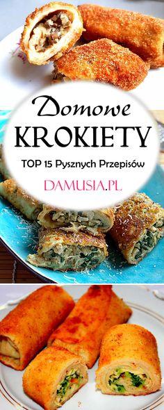 Polish Recipes, Feta, Hamburger, Bread, Cooking, Cooking Recipes, Food And Drinks, Kitchen, Polish Food Recipes