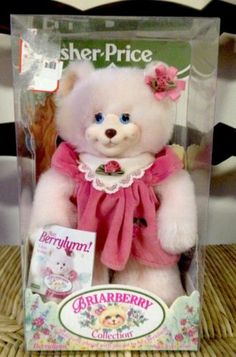 Briarberry Collection Bear Fisher Price Berrylynn New   eBay