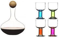 Wine Carafe and 4 glasses Wine Carafe, Barware, Mothers, Glasses, Gifts, Wine Decanter, Eyewear, Eyeglasses, Presents