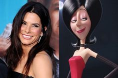 Sandra Bullock is the voice of Scarlet Overkill in the Minions Movie.