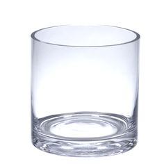 Clear Glass Cylinder Vase 5 Inches | Wedding Supplies | Hassle Free Shipping