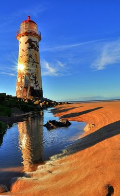 Talacre Lighthouse - Wales