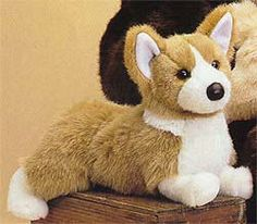 Welsh Corgi Plush Stuffed Dog (Ingrid), 14 Inches (and now you know what I need for Christmas)