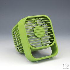 "USB electric fan ""W-Fan"" | AssistOn Desk Fan, Electric Fan, Air Purifier, Product Design, Industrial Design, Consumer Electronics, Favorite Color, 3d Printing, Design Inspiration"