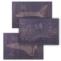 Start planning early with these shuttle blueprints.