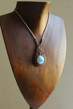 Macrame necklace                                                                                                                                                      More