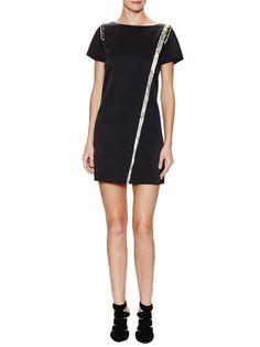 Ranon Grid Short Sleeve Dress by Zadig