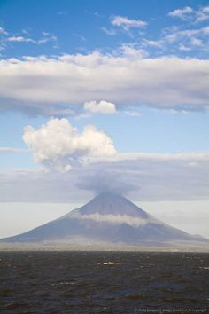 Conception Volcano, Ometepe Island, Nicaragua.