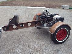 Rat rod log splitter!