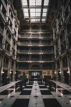 George Peabody Library | Baltimore, Maryland