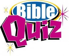 Bible quiz games are entertaining and informitive.