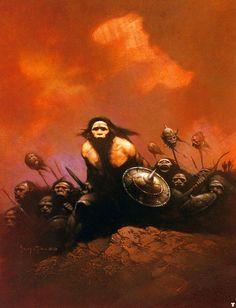 Exército Neandertal O Fantástico Frank Frazetta