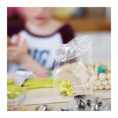 HEMSMAK Plastic bag IKEA Suitable as gift bags for cookies, sweets, or trinkets.