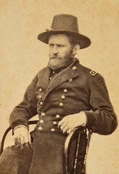 CDV image of U.S. Grant