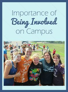 Importance of Being Involved on Campus and a some ways that you can!
