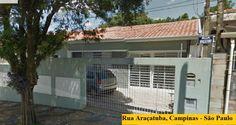 Rua Araçatuba, Campinas - São Paulo