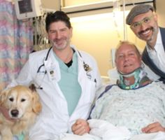Kelsey is credited with saving her owner's life after he broke his neck in a fall on New Year's Eve.