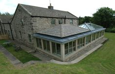 modern - stone stars - Orangery Company Leeds, Quality Orangery Company based in Leeds Orangery Extension, Roof Extension, Extension Ideas, Bungalow Extensions, House Extensions, Premade Sheds, Oak Framed Extensions, Conservatory Design, Solar