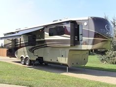 2014 DRV Tradition 390 fully loaded luxury 5th wheel - YouTube
