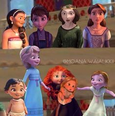 Image in CGI Ladies collection by Winter Frost Disney Princess Babies, Disney Princess Fashion, Disney Princess Pictures, Disney Princess Dresses, Disney Girls, Princess Music, Funny Princess, Princess Sophia, Baby Disney Characters