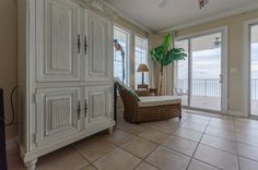 Club Cabana Unit#401... $535,000... 4bedrooms, 3baths... Non-Rental Complex Beautiful Mediterranean Style Condo Unit on Perdido Key's Gulf of Mexico! Contact DJ Drury @850-572-3539 or email  dj.drury@cox.net for more info Home, Condo, Cabana, Wet Bar, Spa Pool, Room Divider, Mediterranean Style, Furniture, Steam Room